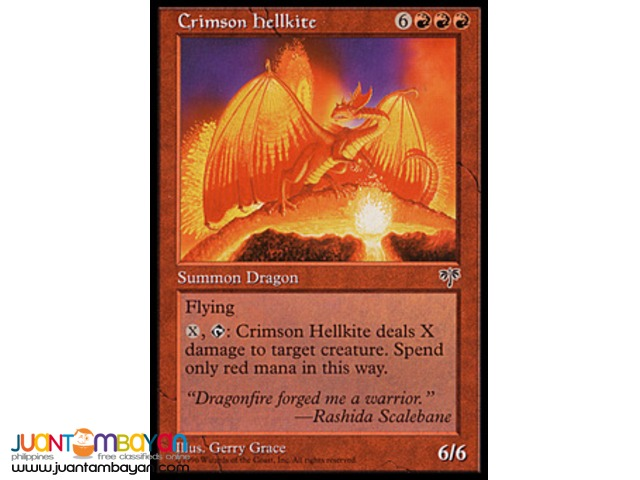 Crimson Hellkite (Magic the Gathering Trading Card Game)