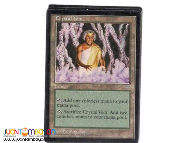 Crystal Vein (Magic the Gathering Trading Card Game)