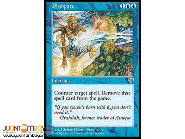 Dissipate (Magic the Gathering Trading Card Game)