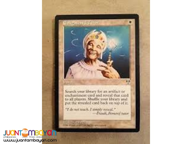 Enlightened Tutor (Magic the Gathering Trading Card Game)
