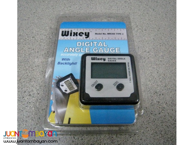 Wixey WR300-TY2 Digital Angle Gauge Type 2