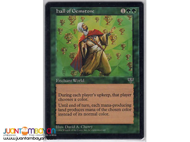 Hall of Gemstone (Magic the Gathering Trading Card Game)
