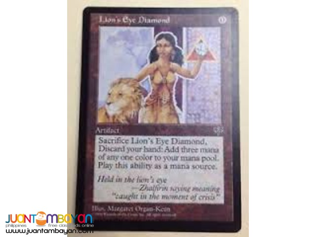 Lion's Eye Diamond (Magic the Gathering Trading Card Game)