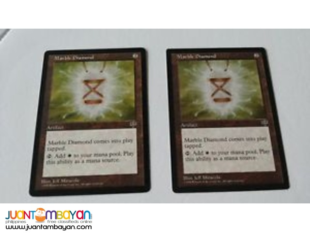 Marble Diamond (Magic the Gathering Trading Card Game)