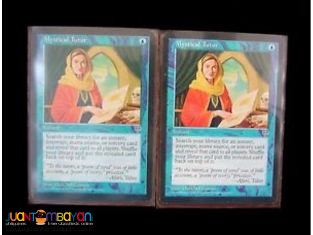 Mystical Tutor (Magic the Gathering Trading Card Game)