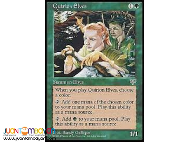 Quirion Elves (Magic the Gathering Trading Card Game)