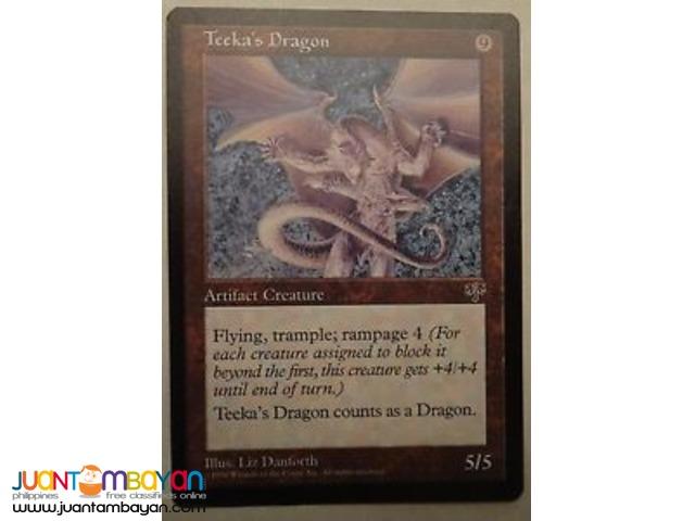 Teeka's Dragon (Magic the Gathering Trading Card Game)