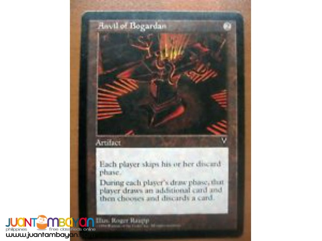 Anvil of Bogardan (Magic the Gathering Trading Card Game)