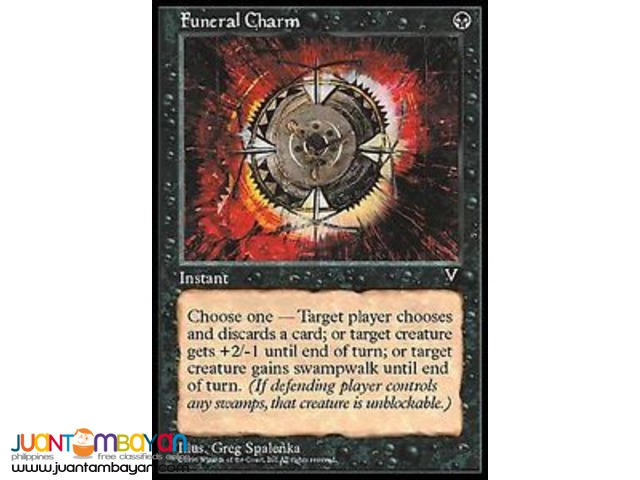 Funeral Charm (Magic the Gathering Trading Card Game)