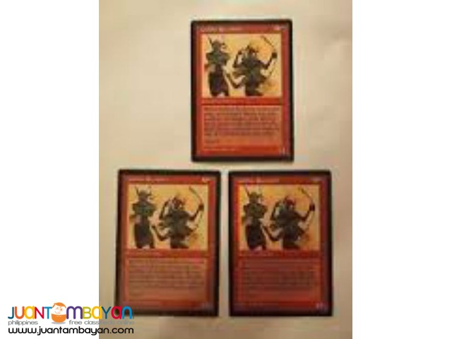Goblin Recruiter (Magic the Gathering Trading Card Game)