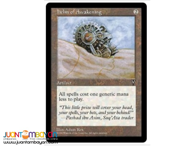 Helm of Awakening (Magic the Gathering Trading Card Game)