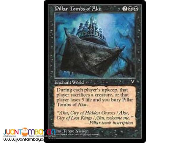 Pillar Tombs of Aku (Magic the Gathering Trading Card Game)