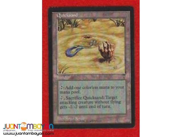 Quicksand (Magic the Gathering Trading Card Game)