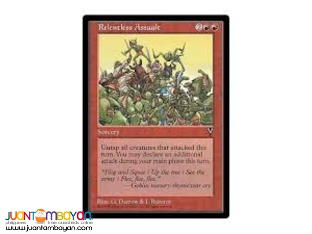 Relentless Assault (Magic the Gathering Trading Card Game)