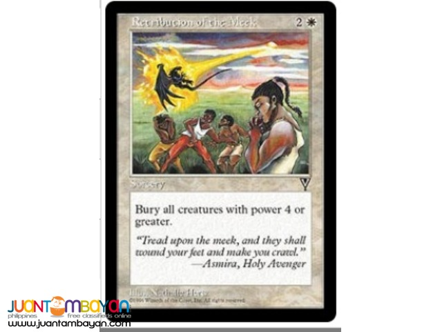 Retribution of the Meek (Magic the Gathering Trading Card Game)