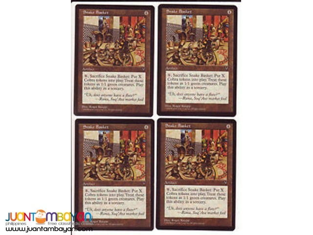 Snake Basket (Magic the Gathering Trading Card Game)