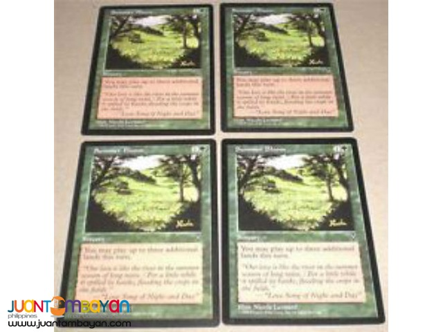 Summer Bloom (Magic the Gathering Trading Card Game)