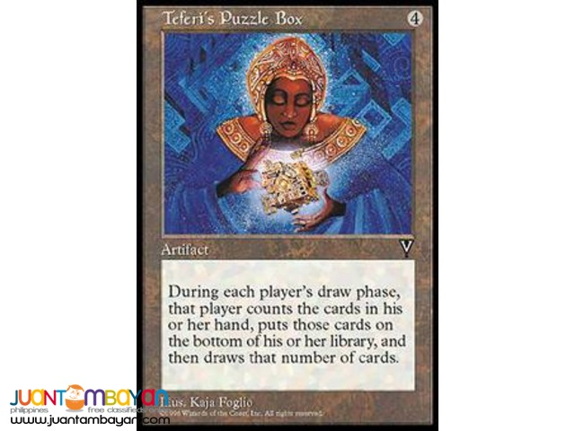 Teferi's Puzzle Box (Magic the Gathering Trading Card Game)
