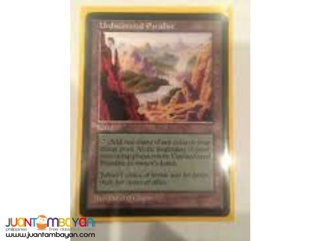 Undiscovered Paradise (Magic the Gathering Trading Card Game)
