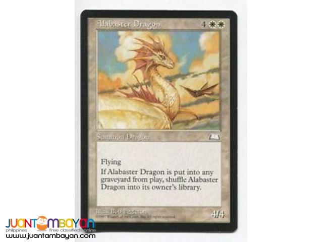 Alabaster Dragon (Magic the Gathering Trading Card Game)
