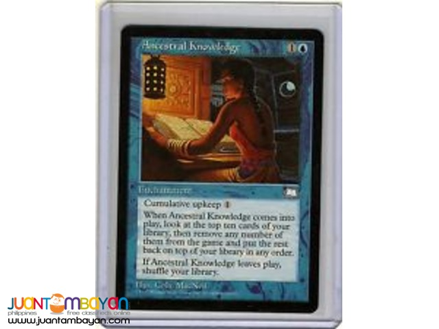 Ancestral Knowledge (Magic the Gathering Trading Card Game)