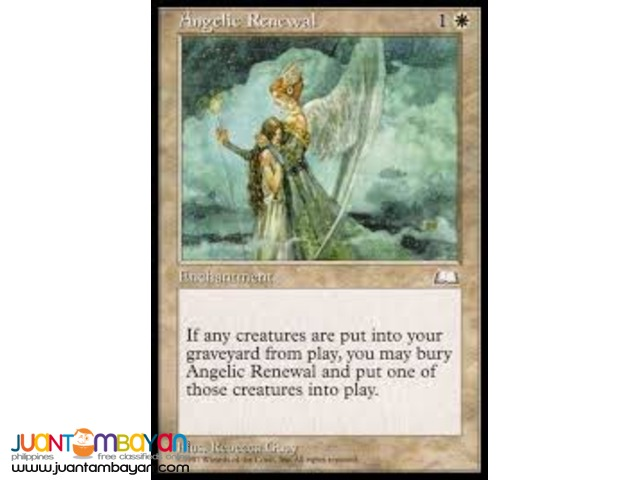 Angelic Renewal (Magic the Gathering Trading Card Game)