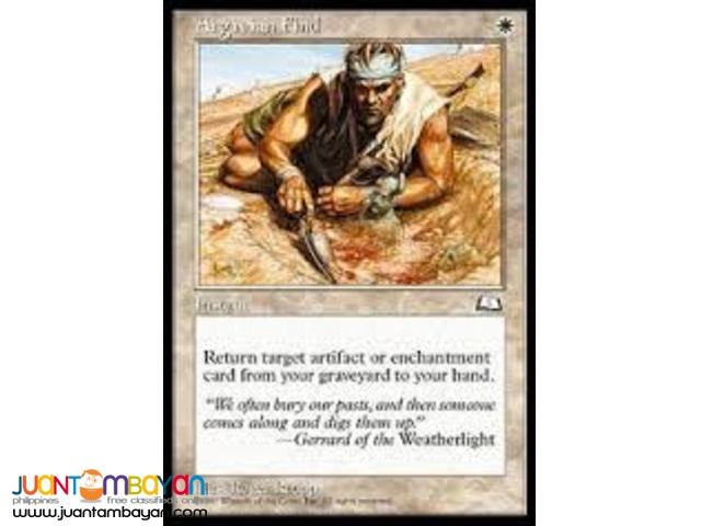 Argivian Find (Magic the Gathering Trading Card Game)