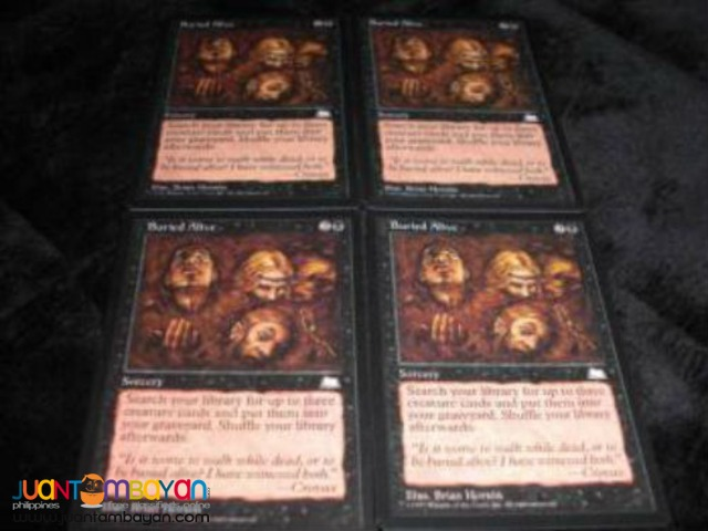 Buried Alive (Magic the Gathering Trading Card Game)