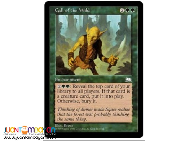 Call of the Wild (Magic the Gathering Trading Card Game)