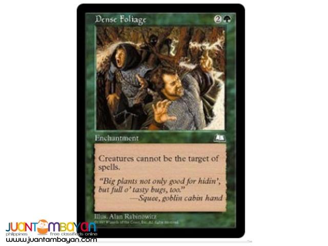 Dense Foliage (Magic the Gathering Trading Card Game)