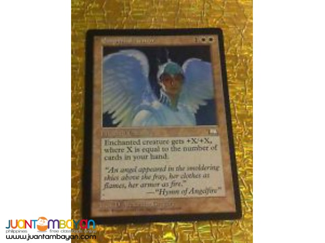 Empyrial Armor (Magic the Gathering Trading Card Game)