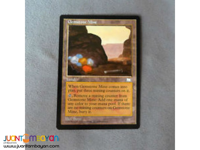 Gemstone Mine (Magic the Gathering Trading Card Game)