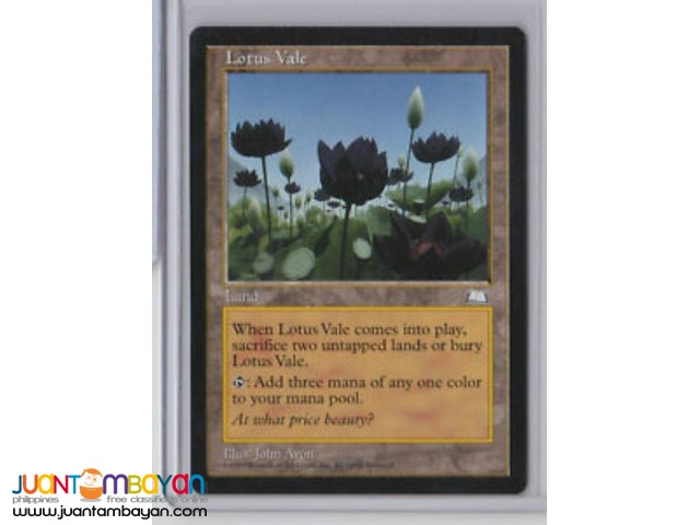 Lotus Vale (Magic the Gathering Trading Card Game)