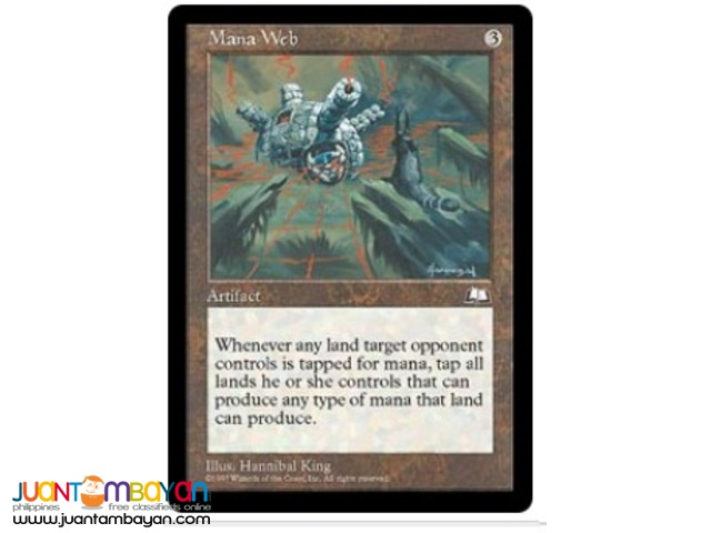 Mana Web (Magic the Gathering Trading Card Game)