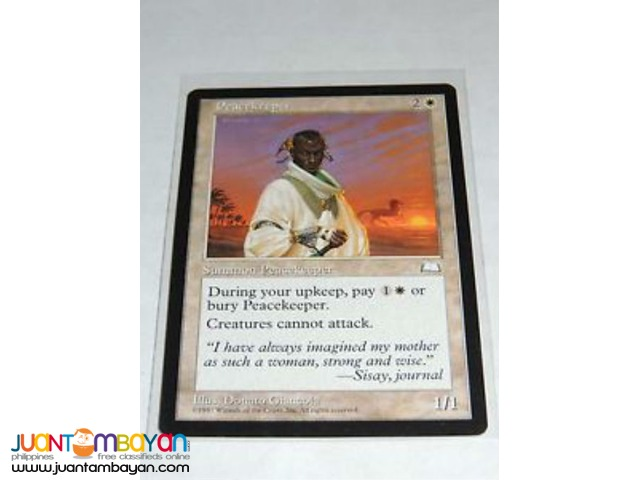 Peacekeeper (Magic the Gathering Trading Card Game)