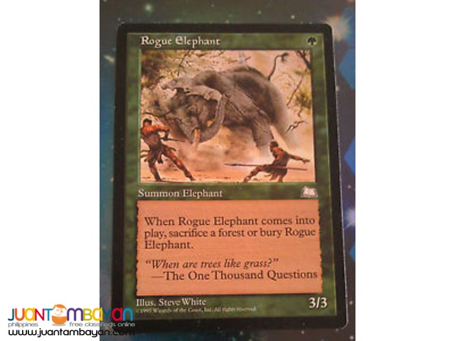 Rogue Elephant (Magic the Gathering Trading Card Game)