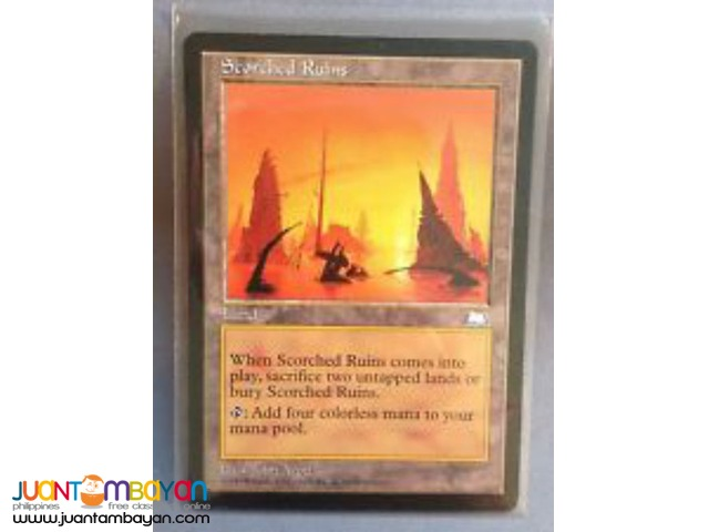 Scorched Ruins (Magic the Gathering Trading Card Game)