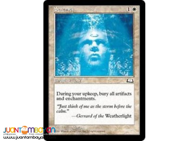 Serenity (Magic the Gathering Trading Card Game)