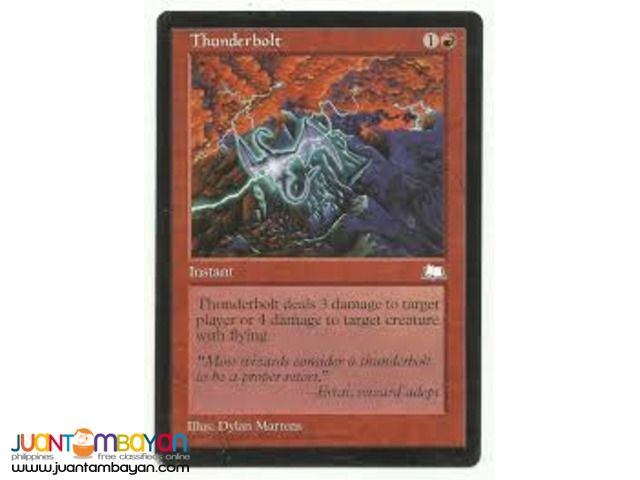 Thunderbolt (Magic the Gathering Trading Card Game)