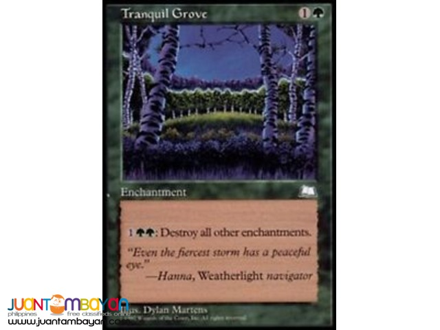 Tranquil Grove (Magic the Gathering Trading Card Game)