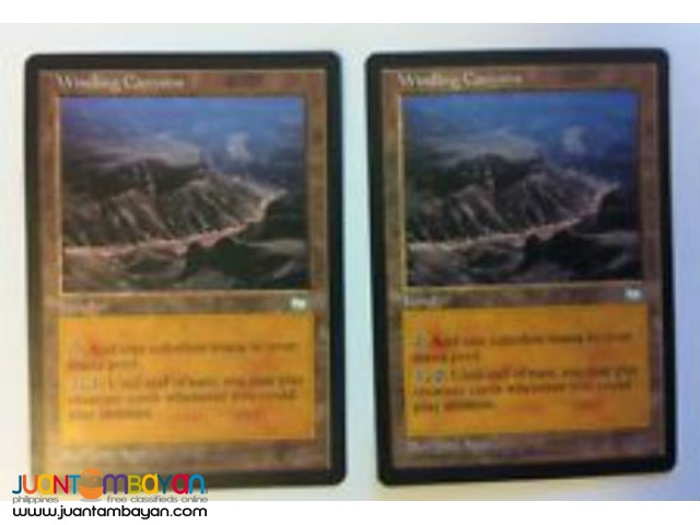 Winding Canyon (Magic the Gathering Trading Card Game)