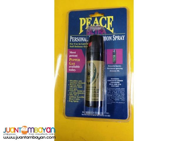 Pepper Gas Sprays