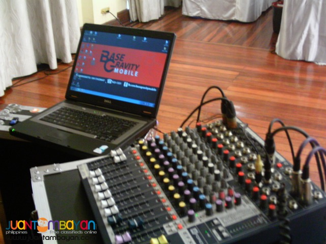 For rent lights and sound (sound system,mobile)