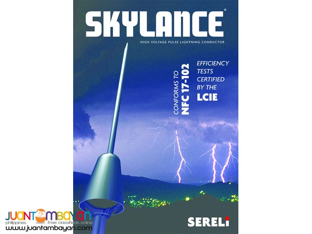Skylance Sereli Lightning Arrester and Conductor, Made in France