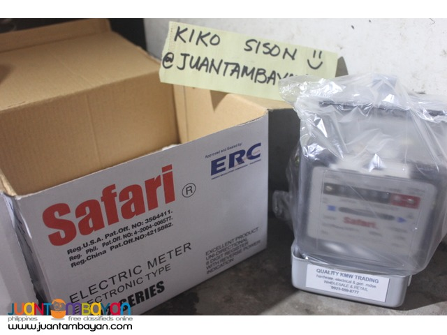 philippines electrical submeter safari brand