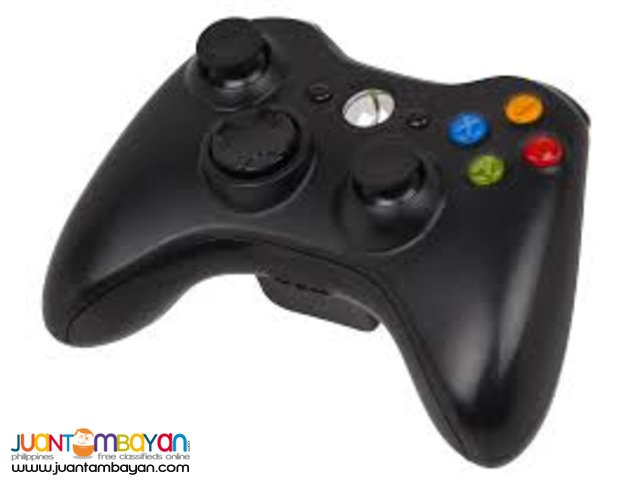 Xbox 360 controller wireless and wired
