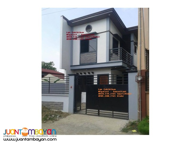 Fully Finished House and Lot (Single Attached) near QC