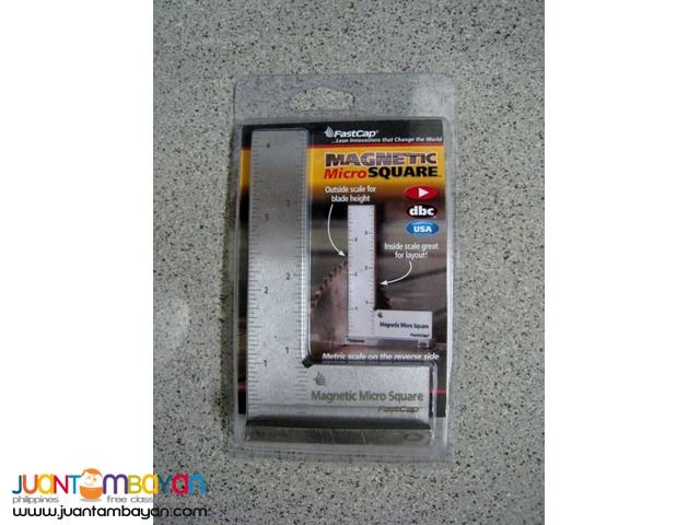 FastCap 4-inch Magnetic Micro Square