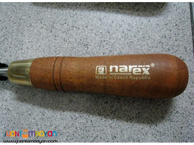 Narex Paring Chisels Set - Made in Czech Republic