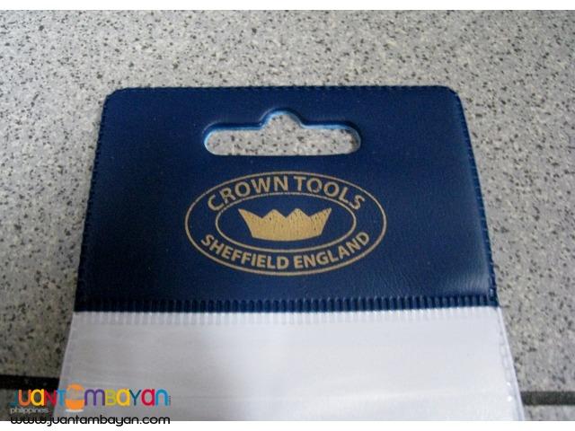 Crown Scraper Burnisher & Cabinet Scraper Set - Made in UK